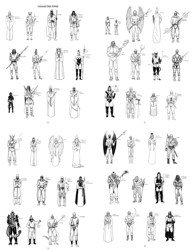 Talislanta-Characters