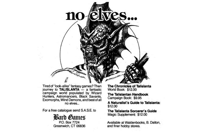 Talislanta-NoElves-Ad