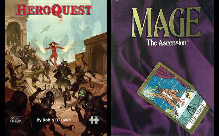 Mage The Ascension In Heroquest Inside The Tower Of Dust