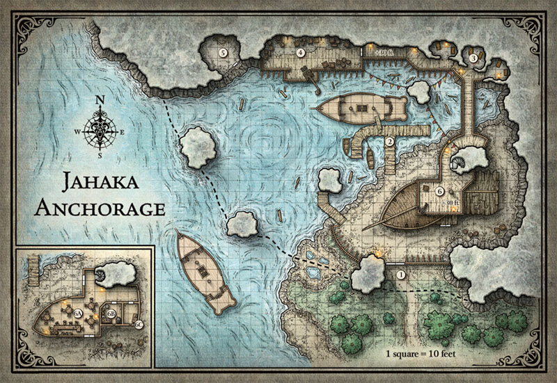 graphic about Sunless Citadel Printable Map called Roleplaying Game titles Webpage 3 In just the Tower of Filth