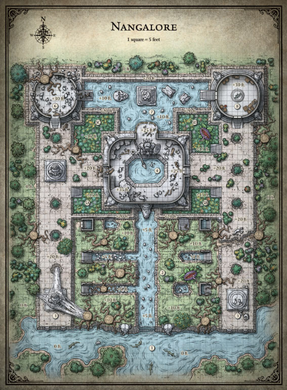 graphic relating to Sunless Citadel Printable Map identified as Roleplaying Online games Website page 3 Within the Tower of Grime